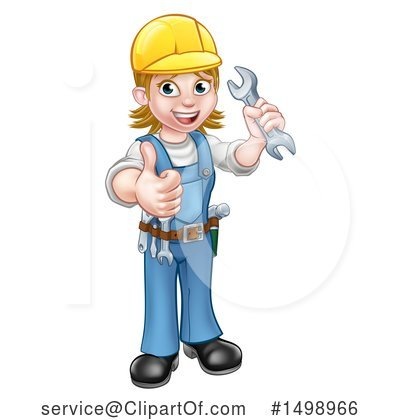 Worker Clipart #1498966 by AtStockIllustration