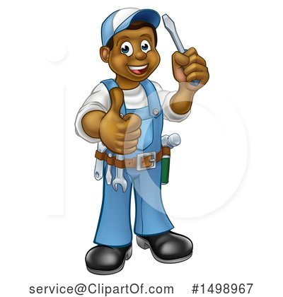 Electrician Clipart #1498967 by AtStockIllustration
