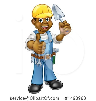 Worker Clipart #1498968 by AtStockIllustration