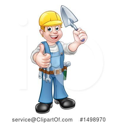 Worker Clipart #1498970 by AtStockIllustration