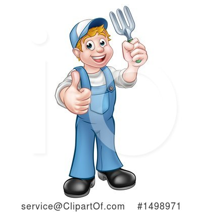 Worker Clipart #1498971 by AtStockIllustration