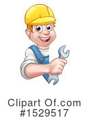 Worker Clipart #1529517 by AtStockIllustration