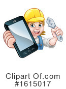 Worker Clipart #1615017 by AtStockIllustration