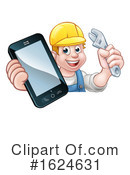 Worker Clipart #1624631 by AtStockIllustration