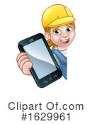 Worker Clipart #1629961 by AtStockIllustration