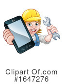 Worker Clipart #1647276 by AtStockIllustration