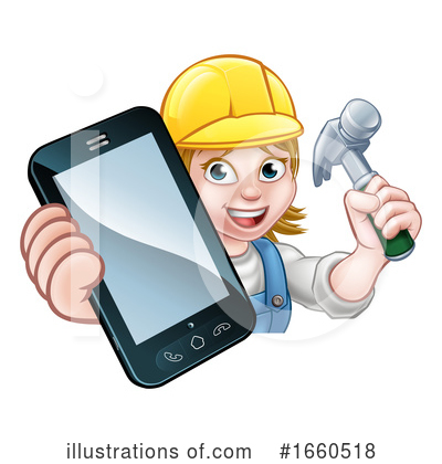 Royalty-Free (RF) Worker Clipart Illustration by AtStockIllustration - Stock Sample #1660518