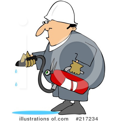 Fire Extinguisher Clipart #217234 by djart