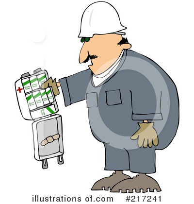 Work Safety Clipart #217241 by djart