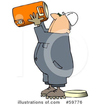 Worker Clipart #59776 - Illustration by djart
