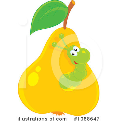 Pear Clipart #1088647 by Alex Bannykh
