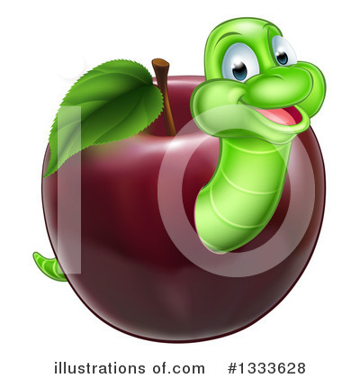 Worm Clipart #1333628 by AtStockIllustration