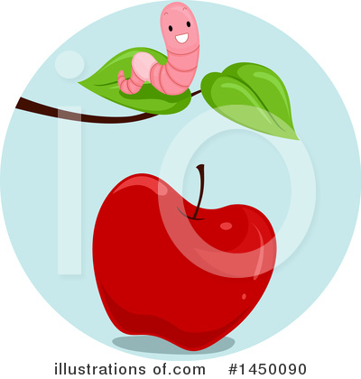 Worm Clipart #1450090 by BNP Design Studio