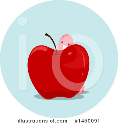 Worm Clipart #1450091 by BNP Design Studio