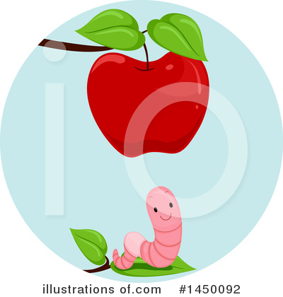 Worm Clipart #1450092 by BNP Design Studio