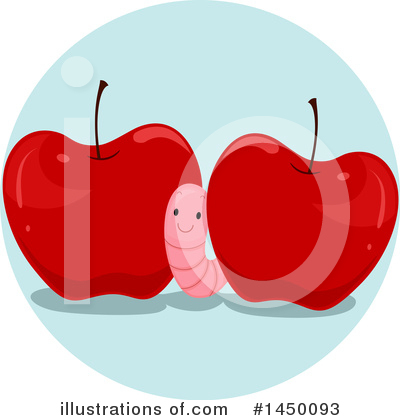 Worm Clipart #1450093 by BNP Design Studio