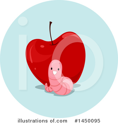 Worm Clipart #1450095 by BNP Design Studio