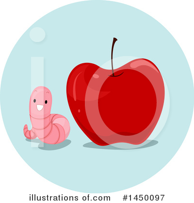 Worm Clipart #1450097 by BNP Design Studio
