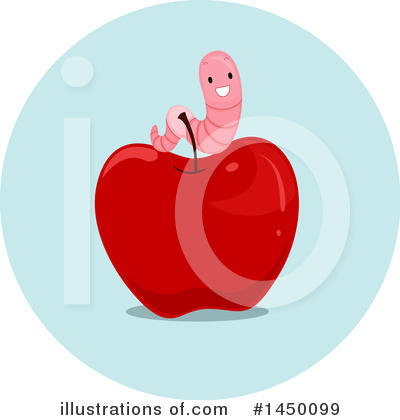 Worm Clipart #1450099 by BNP Design Studio