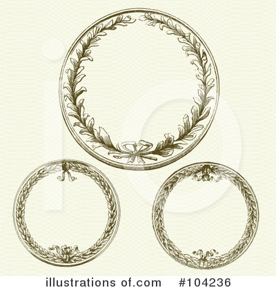 Wreath Clipart #104236 by BestVector