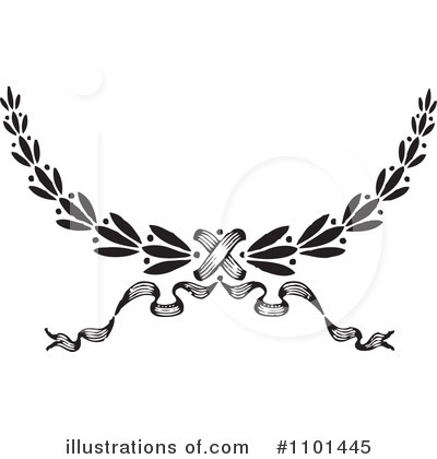 Laurel Wreath Clipart #1101445 by BestVector