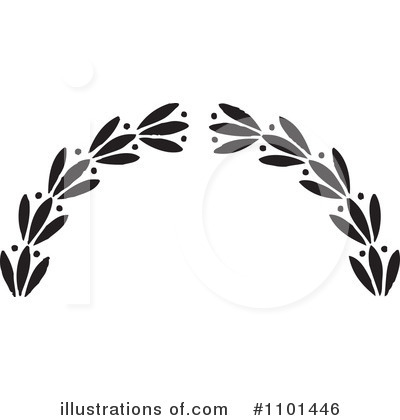 Wreath Clipart #1101446 by BestVector