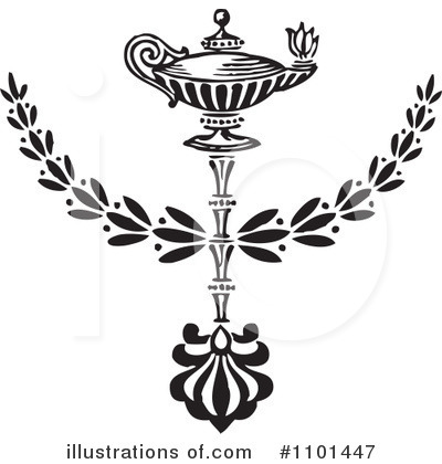 Laurel Wreath Clipart #1101447 by BestVector