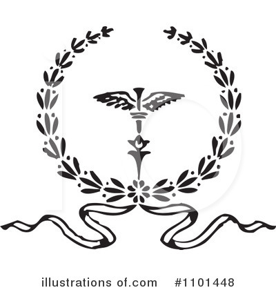 Laurel Wreath Clipart #1101448 by BestVector