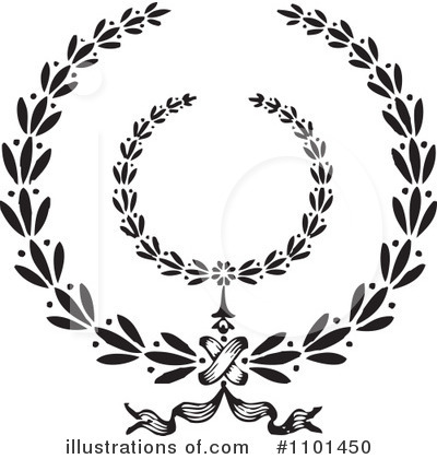 Laurel Wreath Clipart #1101450 by BestVector