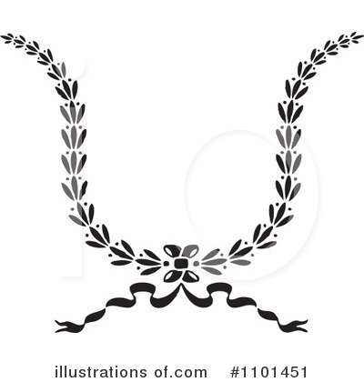 Wreath Clipart #1101451 by BestVector