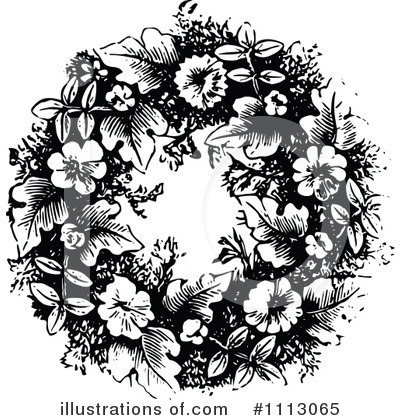 Floral Clipart #1113065 by Prawny Vintage