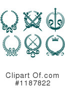 Wreath Clipart #1187822 by Vector Tradition SM