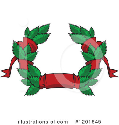 Wreath Clipart #1201645 by Vector Tradition SM