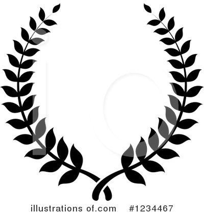Wreath Clipart #1234467 by Vector Tradition SM