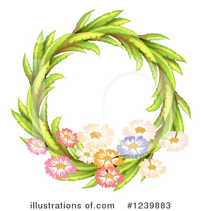 Leaves Clipart #1239883 by Graphics RF
