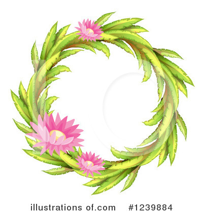 Water Lily Clipart #1239884 by Graphics RF
