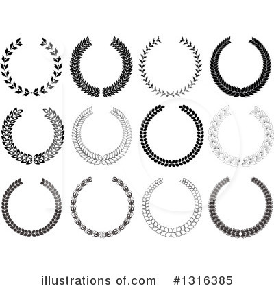 Wreath Clipart #1316385 by KJ Pargeter