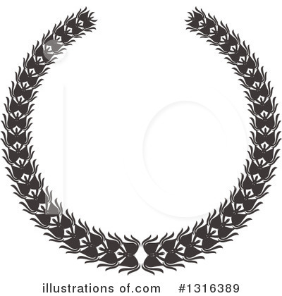 Wreath Clipart #1316389 by KJ Pargeter