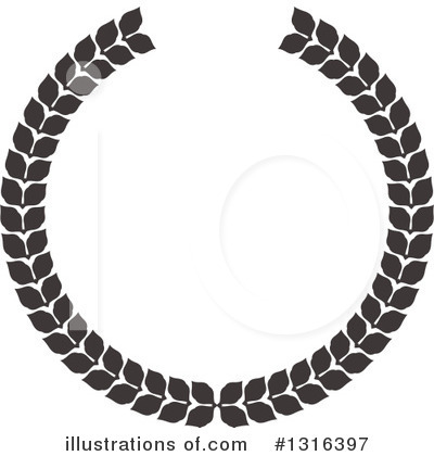 Wreath Clipart #1316397 by KJ Pargeter