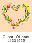 Wreath Clipart #1321555 by Vector Tradition SM