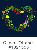 Wreath Clipart #1321556 by Vector Tradition SM