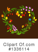 Wreath Clipart #1336114 by Vector Tradition SM