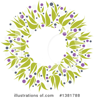 Wreath Clipart #1381788 by elena