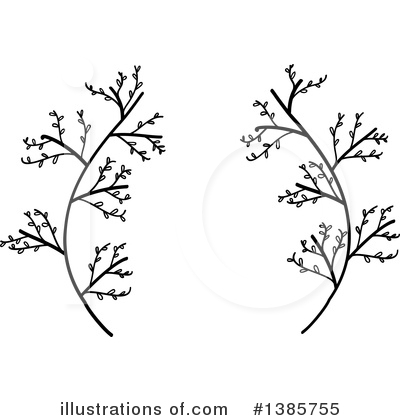 Laurel Wreath Clipart #1385755 by ColorMagic