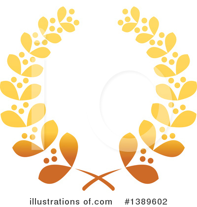 Royalty-Free (RF) Wreath Clipart Illustration by Vector Tradition SM - Stock Sample #1389602