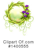 Royalty-Free (RF) Wreath Clipart Illustration #1400555