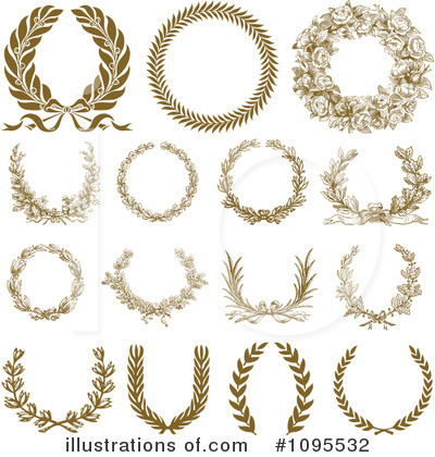 Wreath Clipart #1095532 by BestVector