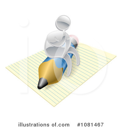 Author Clipart #1081467 by AtStockIllustration
