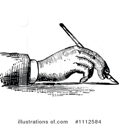 Writing Clipart #1112584 by Prawny Vintage