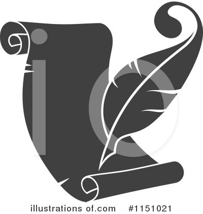 Feather Clipart #1151021 by Vector Tradition SM